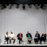 dyskusja; Halina Skoczyńska, Igor Gorzkowski, Adam Ferency, Jacek Kopciński, Zbigniew Majchrowski, Joanna Puzyna-Chojka; fot. Renata Dąbrowska; PC Drama